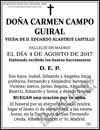 Carmen Campo Guiral